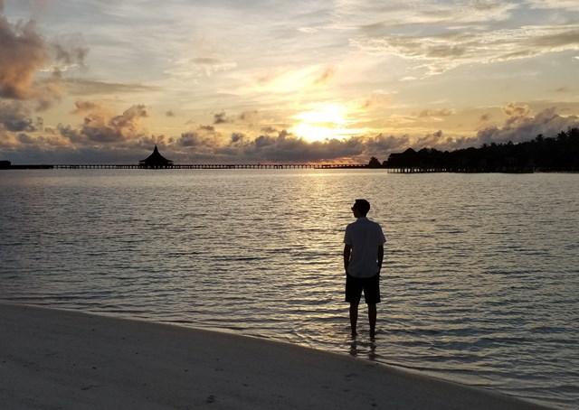 Jason at sunrise