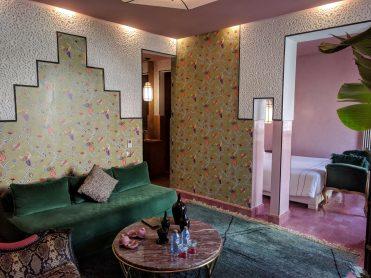 Our room at Dar Kandi
