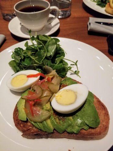 Breakfast at EMC2: Avocado Toast