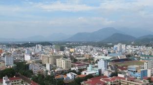 View of Nha Trang City from our room at the Sheraton Nha Trang