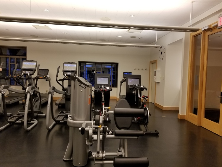 Some of the cardio machines