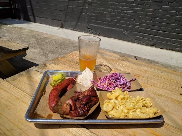 Plate at Heim BBQ