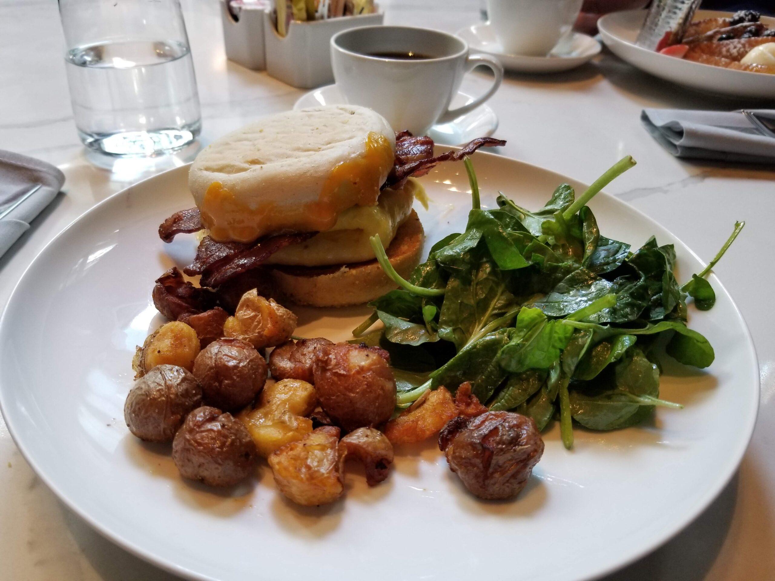 Breakfast at EMC2: Breakfast Sandwich