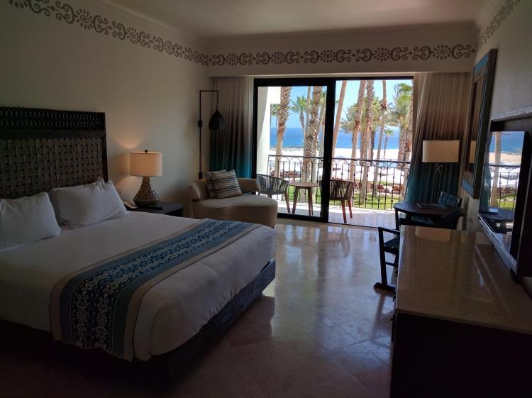 Room at the Hilton Los Cabos
