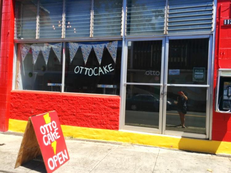 Otto Cake storefront
