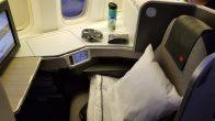 Air Canada Signature Seat: Reverse Herringbone Setup