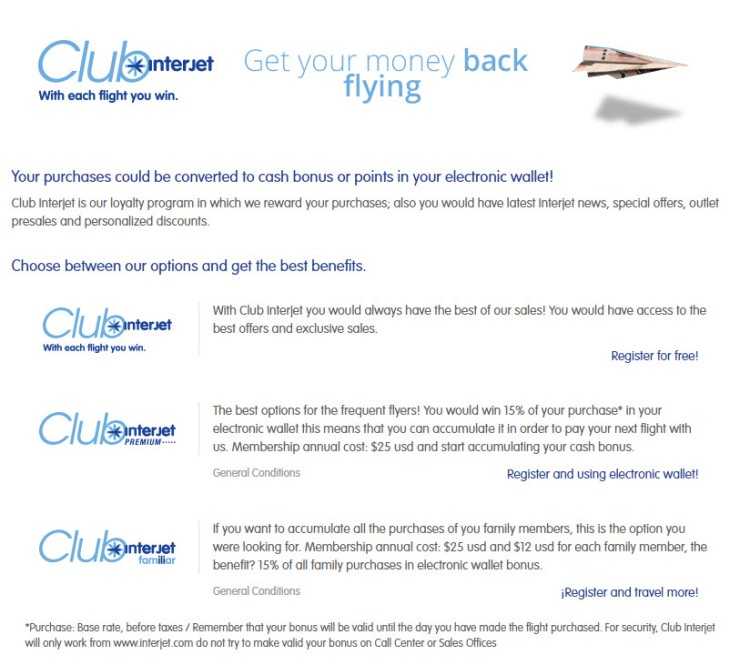 Club Interjet Overview