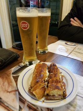 Food at Cervejaria Gazela
