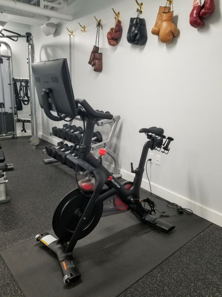 The Guild Tribute Hotel: The gym