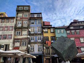 Buildings in Porto by the Douro River