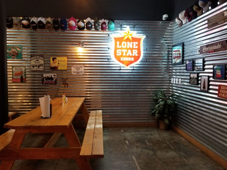 Cattleack Barbeque inside seating