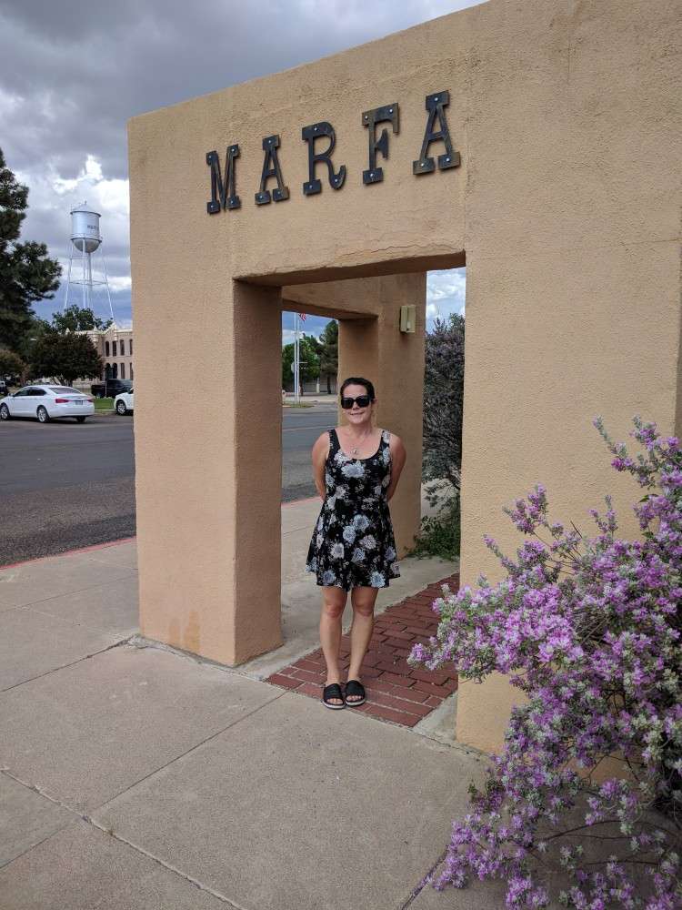 Max in Marfa