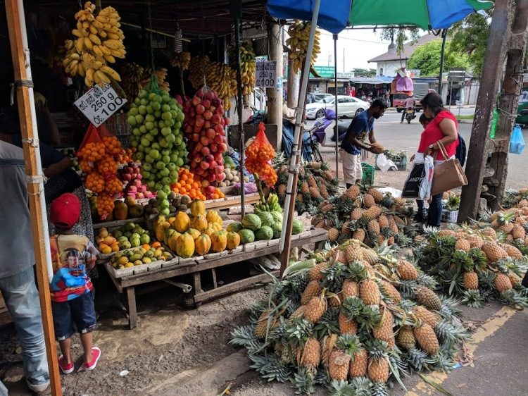 Market in Galle