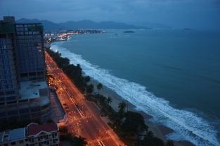 View from our room at the Sheraton Nha Trang