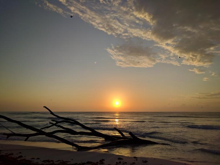 Sunrise at Encantada