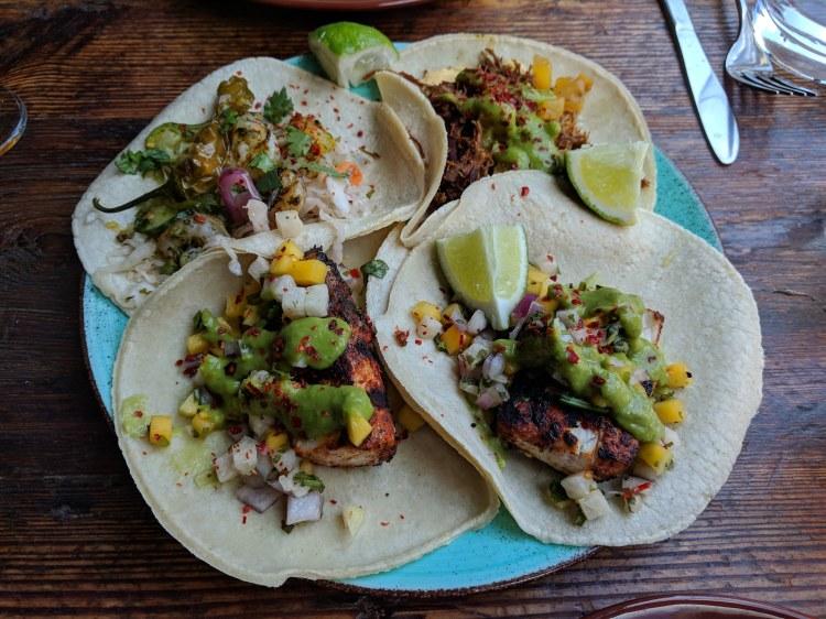 Tacos at Loco Taqueria