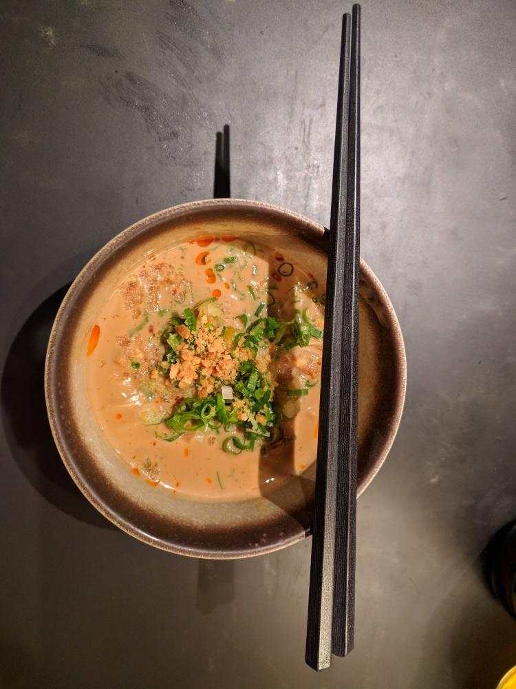 Dan-dan noodles at The Pier at HKG
