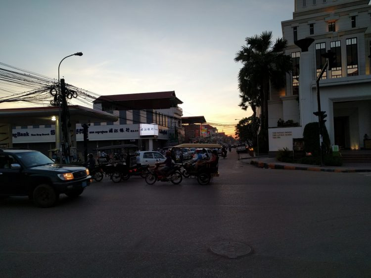 Siem Reap at dusk
