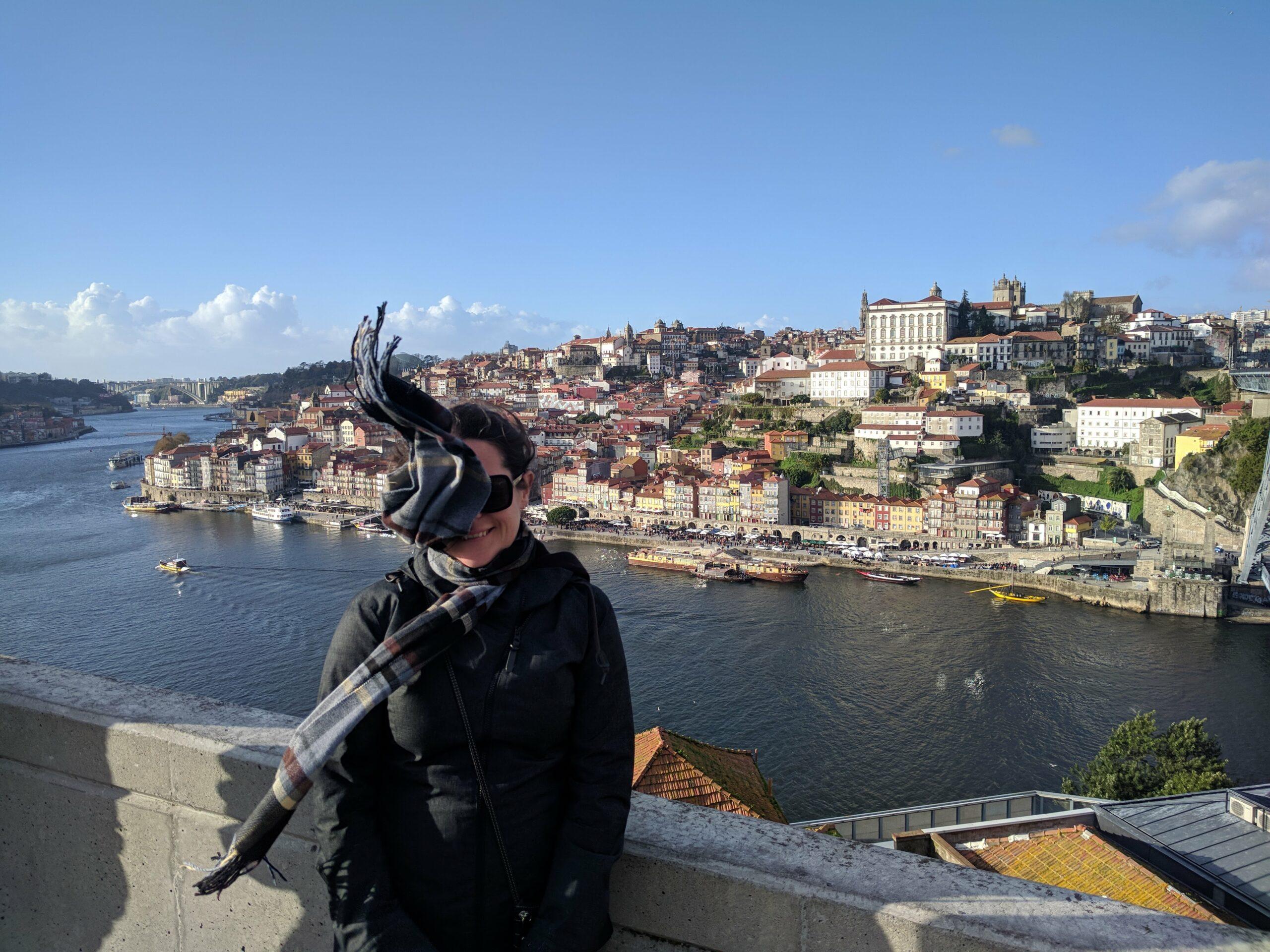 It was a windy day in Porto