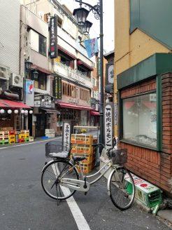 Unlocked bike in Tokyo