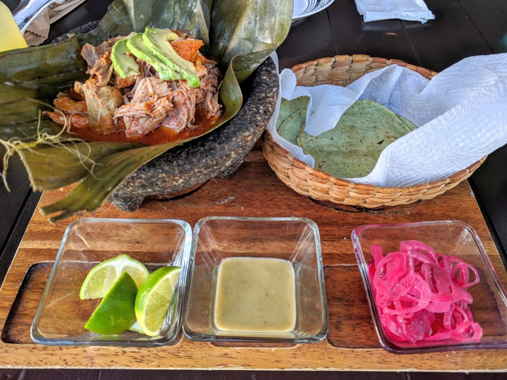 Cochinita pibil at Cielito Lindo