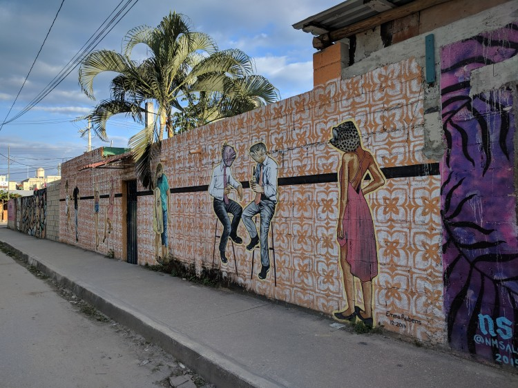 Mural in Tulum Town