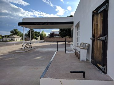 Old/Abandonned Gas Station in Marfa