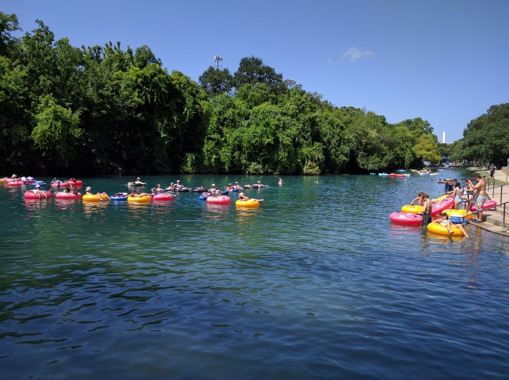 River Tubing on the Comal River