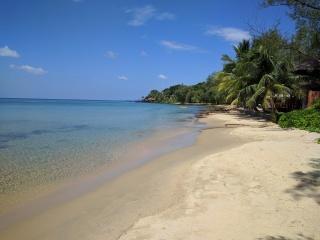 The beach at Mango Bay on Phu Quoc Island