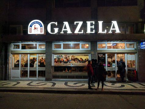 Outside Cervejaria Gazela