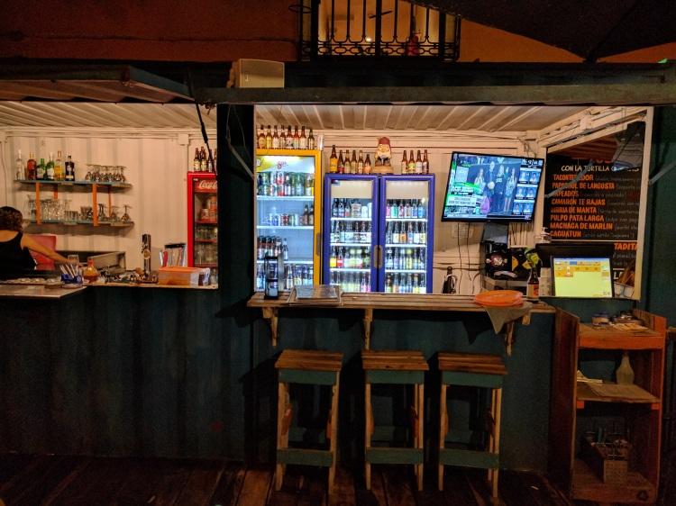 TFridges with craft beer at TaconTenedor
