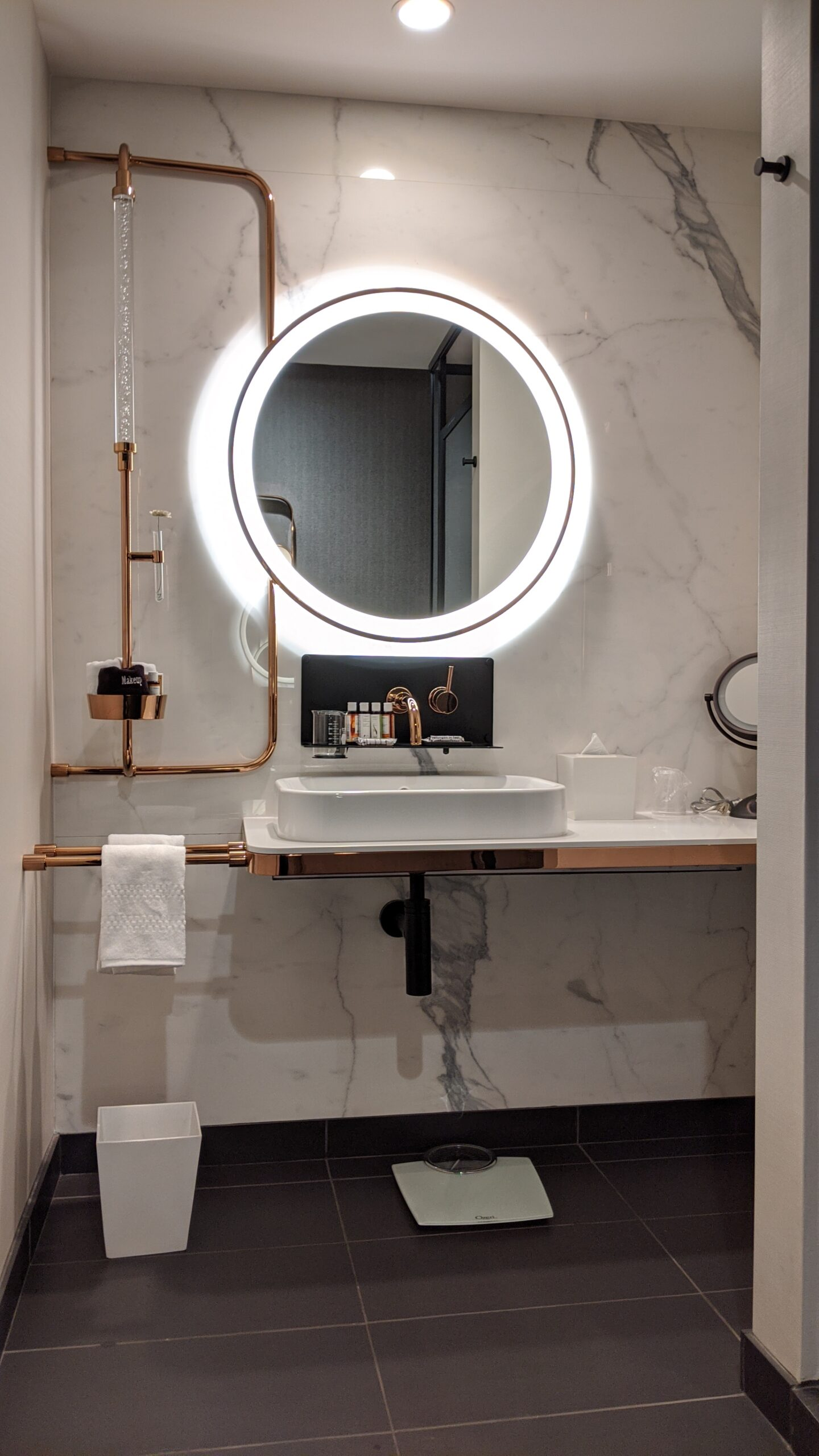 Bathroom at EMC2