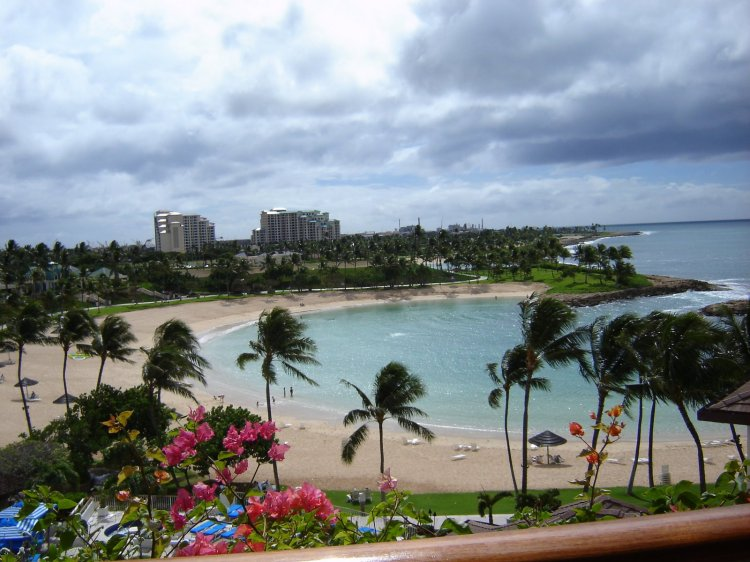 View from the Four Season Ko'olina