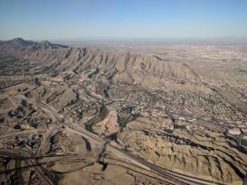 Taking off in El Paso