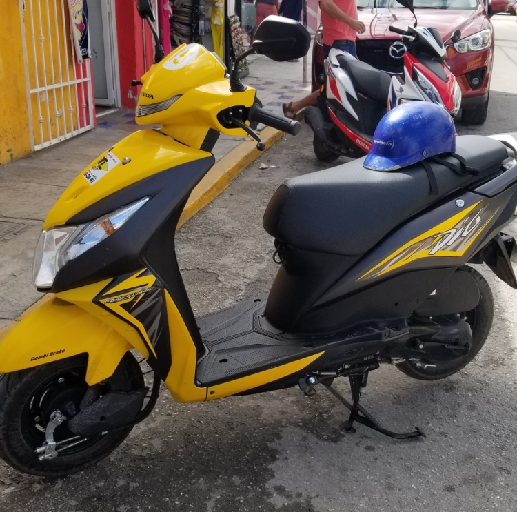 The Honda Dio we rented from HTL