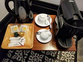 Cocorico Luxury Guesthouse: Nespresso and tea