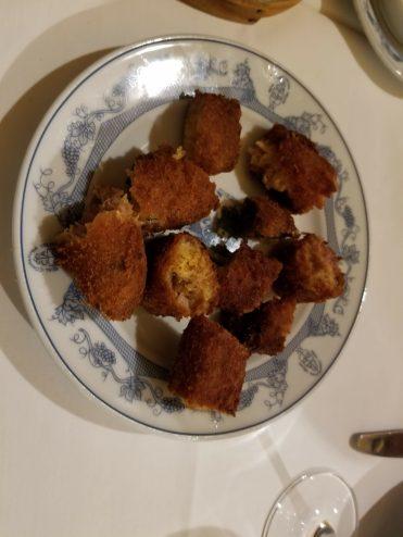 Alheira sausage at Taberna Dos Mercadores