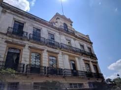The historic centre in Guadalajara