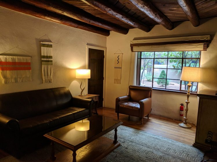 New-Mexico-Santa-Fe-La-Posada-Suite-Living