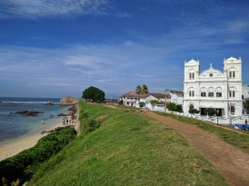 The mosque in Galle Fort