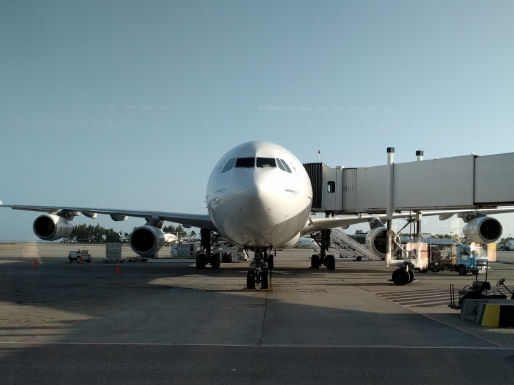 Our Copa flight at PTY