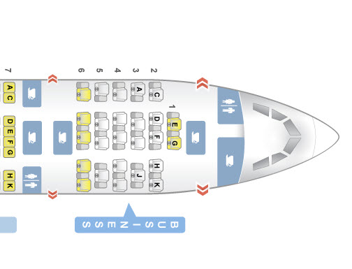 SeatGuru Seat Map on TAP Air Portugal's A330-200 in Business Class