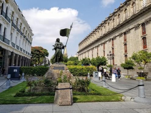 Statue in the historic center