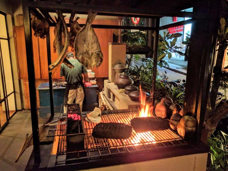 Nusantara outdoor grill