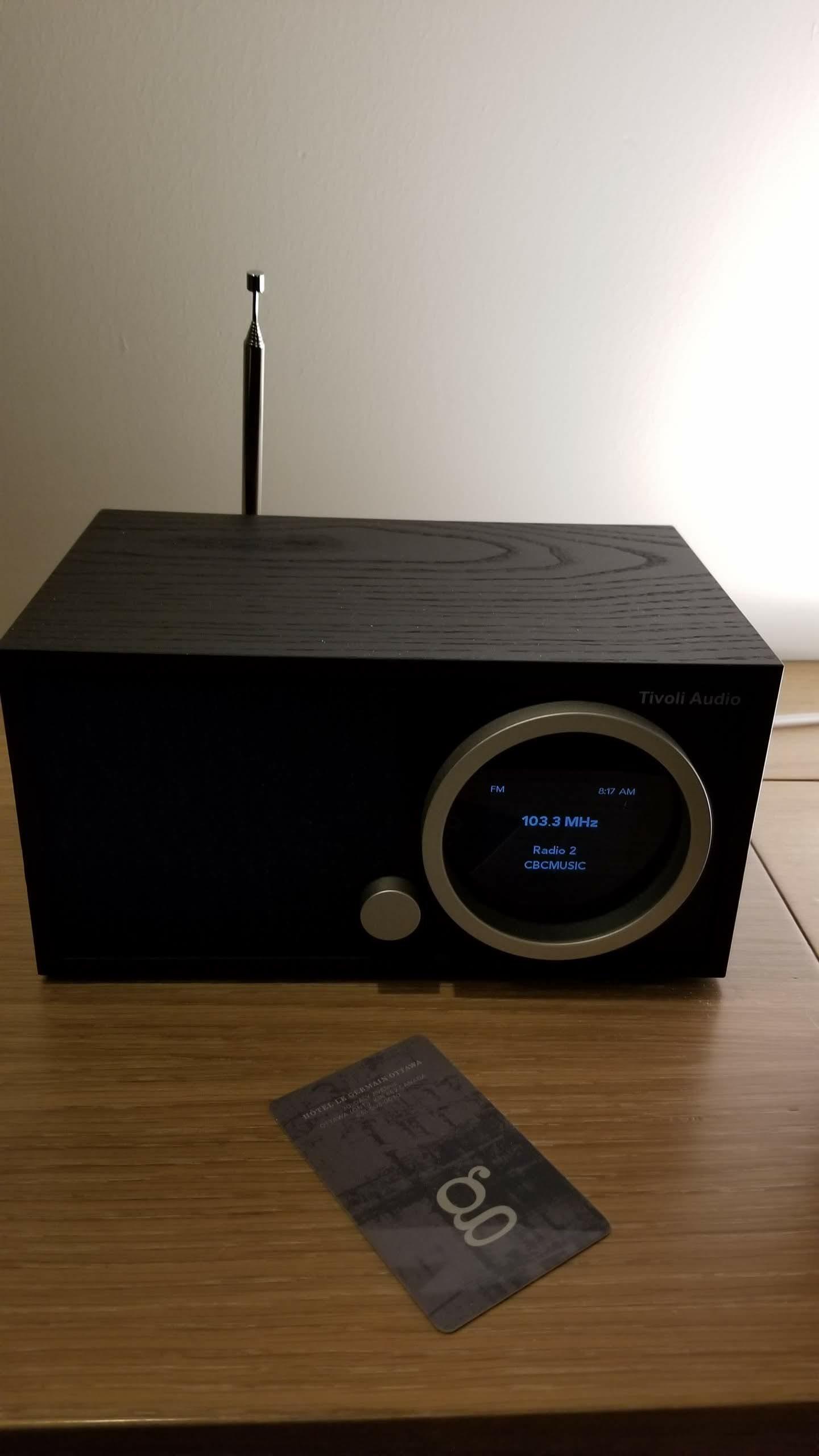 Tivoli radio in the room