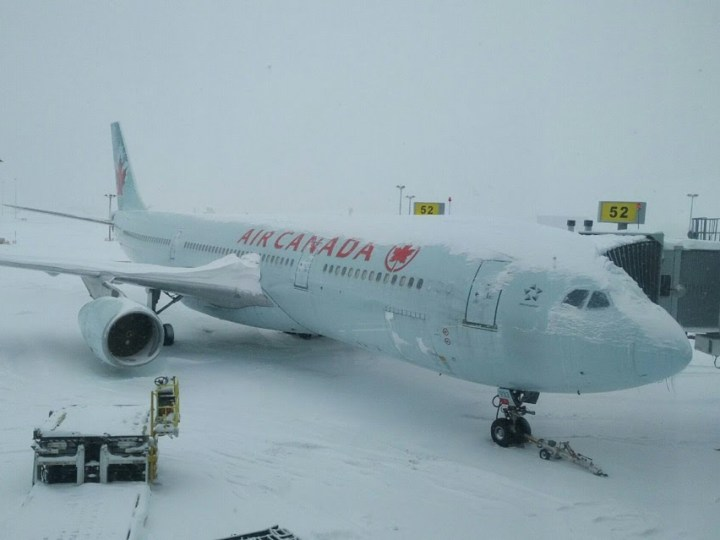 Grounded flight at YUL
