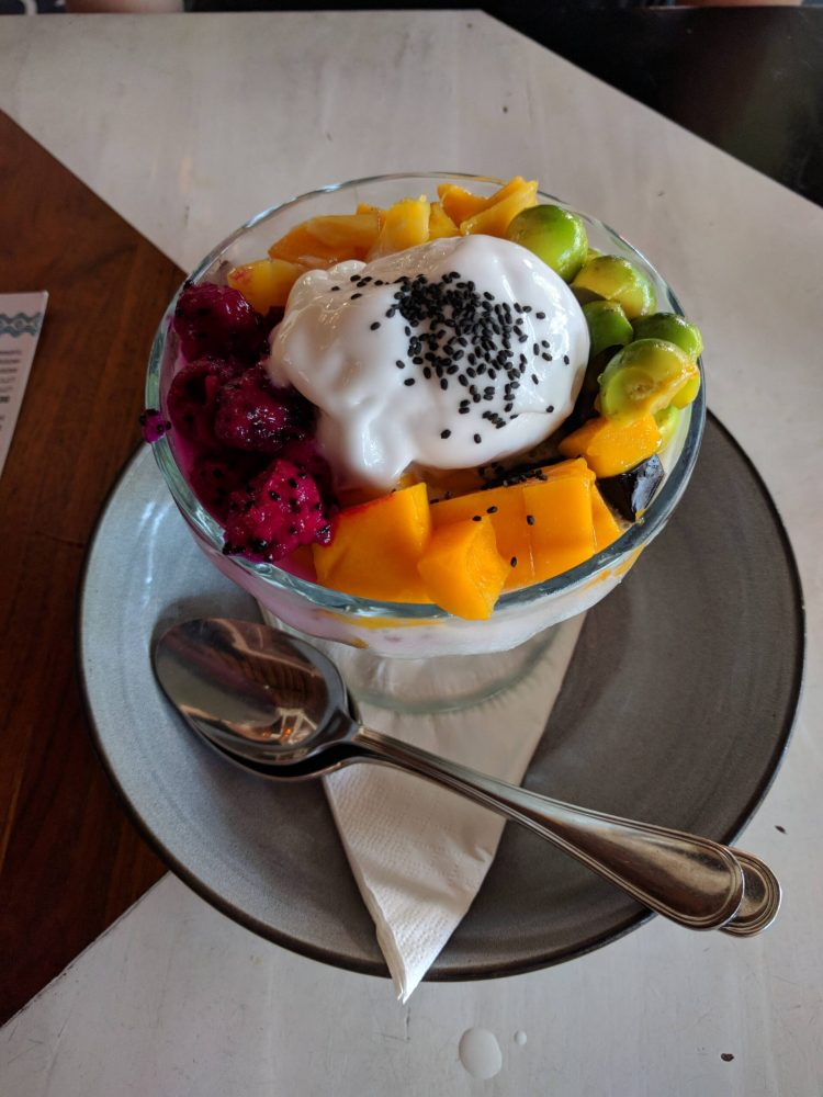 Es Teller Ulekan: a refreshing and light dessert! Perfect for weather in Bali!