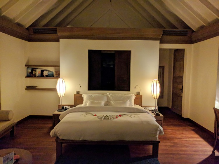 Sunrise villa bedroom