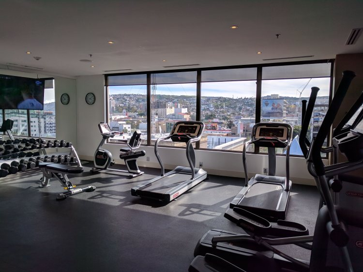Gym at the K Tower