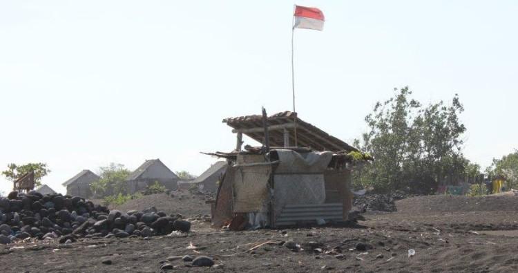 A home in Kusamba Village